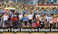 Bağcılar'lı engelli basketçilerin galibiyet sevinci