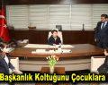 Göksu, başkanlık koltuğunu çocuklara devretti