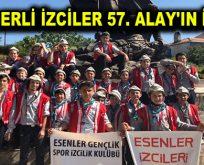 ESENLERLİ İZCİLER 57. ALAY'IN İZİNDE