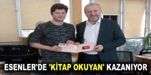 ESENLER'DE 'KİTAP OKUYAN' KAZANIYOR