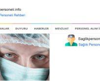 sağlık personeli haberleri