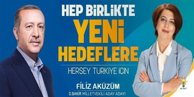 Filiz Aküzüm, milletvekili aday adayı oldu