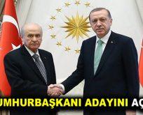 MHP'nin Cumhurbaşkanı adayı belli oldu