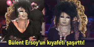 Bülent Ersoy'un kıyafeti geceye damga vurdu!