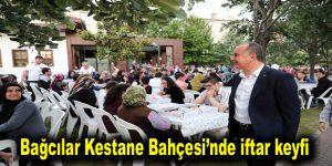 Bağcılar Kestane Bahçesi'nde iftar