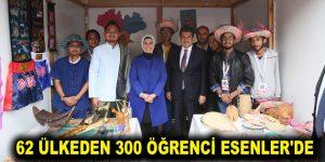 62 ÜLKEDEN 300 ÖĞRENCİ ESENLER'DE