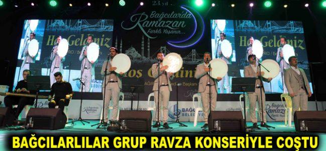 Bağcılarlılar Grup Ravza konseriyle coştu
