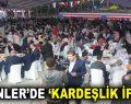 ESENLER'DE 13 ÜLKEDEN YETİM ÇOCUKLARA İFTAR