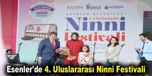 Esenler'de 4. Uluslararası Ninni Festivali düzenlendi