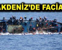 Akdeniz'de Facia! 46 ölü!