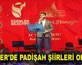 ESENLER'DE PADİŞAH ŞİİRLERİ OKUNDU