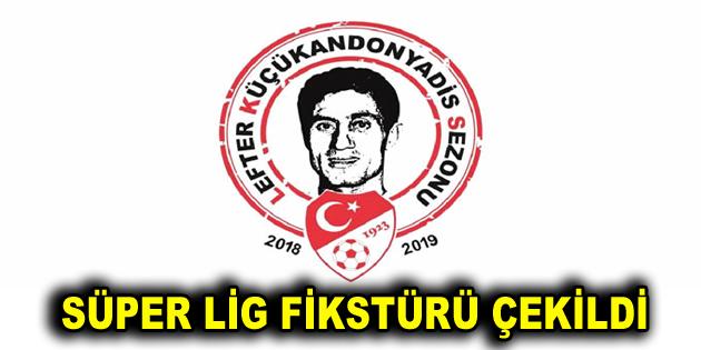 Spor Toto Süper Lig'de 2018/2019 sezonu fikstürü çekildi