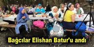 Bağcılar Elishan Batur'u andı