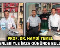 Prof. Dr. Hamdi Temel, İstanbul'da okuyucularıyla buluştu