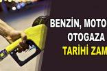 Akaryakıta ÖTV zammı: Benzin, motorin ve otogaz fiyatları uçtu!