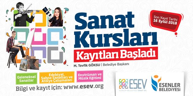 ESEV SANATSEVERLERİ BEKLİYOR
