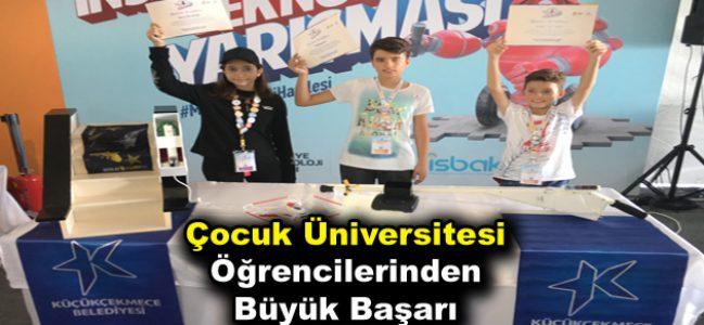 Çocuk Üniversitesi öğrencilerinden büyük başarı