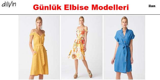 Marjinal Günlük Elbise Modelleri