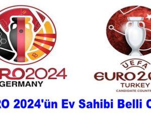 EURO 2024'ün ev sahibi belli oldu!