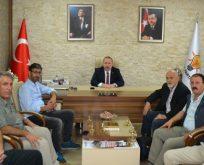 Esenler Yerel Basın, Umut Özkan'ı ziyaret etti