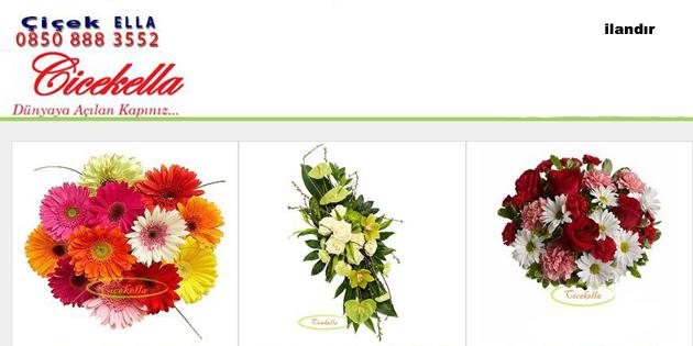 çiçekella ile çiçek siparişi