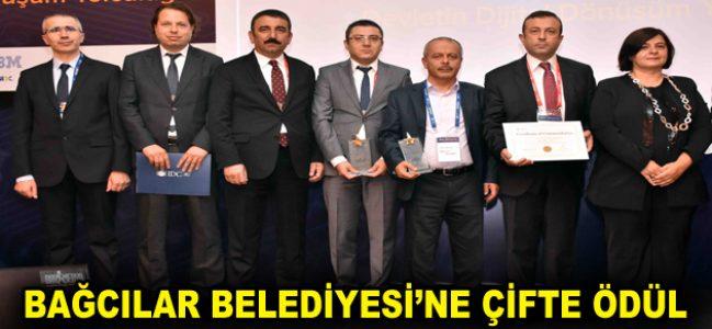 Bağcılar Belediyesi'ne çifte ödül
