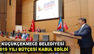 Küçükçekmece Belediyesi 2019 Yılı Bütçesi Kabul Edildi