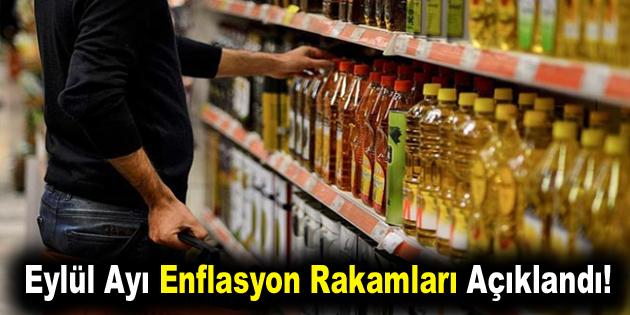 Eylül Ayı Enflasyon Rakamları Açıklandı!