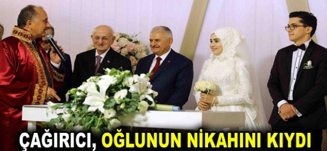Başkan Lokman Çağırıcı oğlunu evlendirdi