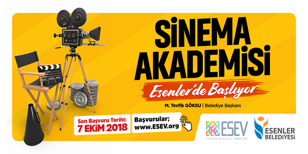 ESENLER'DE 'SİNEMA AKADEMİSİ'