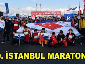 Küçükçekmece Belediyesi, 40'ıncı İstanbul Maratonu'nda