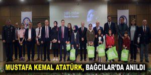 Mustafa Kemal Atatürk, Bağcılar'da anıldı