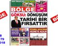 """BÖLGE GAZETESİ , YIL:18 , SAYI: 179 , """"KASIM 2018"""" SAYISI ÇIKTI!.."""