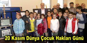 Bilgi Evleri çocukları dünya çocuklarının sesi oldu