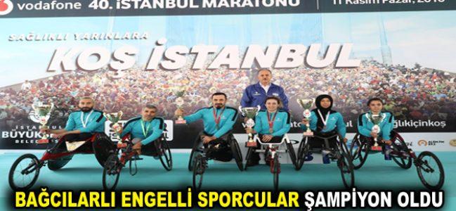 Bağcılarlı engelliler şampiyon oldu