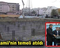 Bağcılar Fetih Camii'nin temeli törenle atıldı