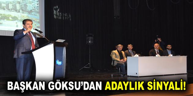 Başkan Gösu'dan Adaylık Açıklaması