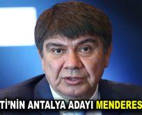 AK Parti'nin Adayı Menderes Türel Oldu