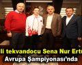 Milli tekvandocu Sena Nur Ertürk Avrupa Şampiyonası'nda