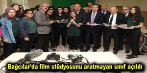 Bağcılar'da film stüdyosunu aratmayan sınıf açıldı