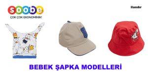 Bebek Şapkaları Erkek Ve Kız Seçenekleri İle Dikkat Çekiyor