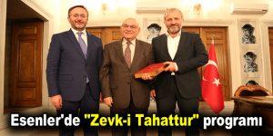 "Esenler'de ""Zevk-i Tahattur"" programı"