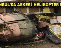 İstanbul Sancaktepe'de helikopter düştü