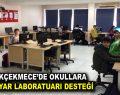 Küçükçekmece'de okullara bilgisayarlı laboratuar desteği