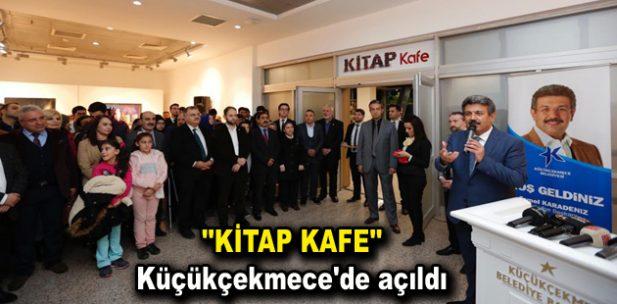 """""""KİTAP KAFE"""" Küçükçekmece'de açıldı"""
