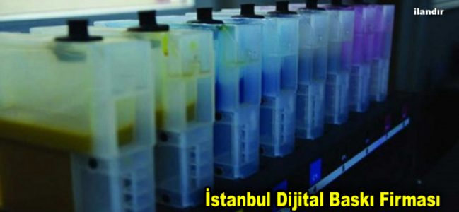 İstanbul Dijital Baskı Firması