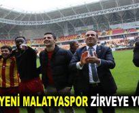Yeni Malatyaspor zirveye yürüyor