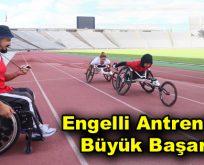 Engelli antrenörün büyük başarısı