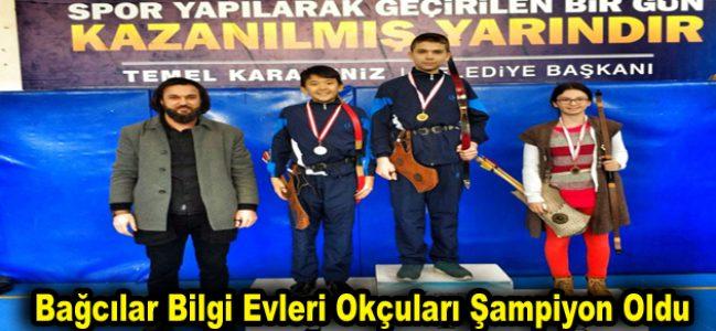 Bağcılar Bilgi Evleri okçuları şampiyon oldu