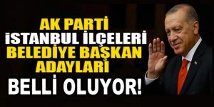 İstanbul İlçe Belediye Başkanı Adayları ne zaman açıklanacak?